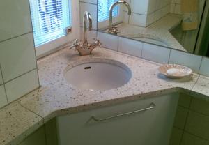 Terrazzoflise håndvask